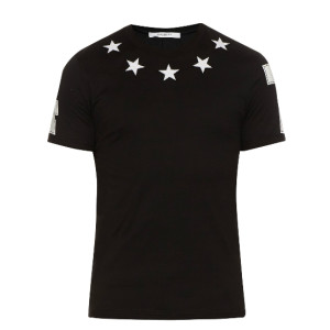 Givenchy classic star tee black