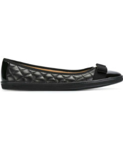 Salvatore Ferragamo Ballerinas Black