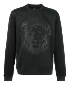 Versus lion sweatshirt black