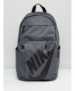 back pack grey